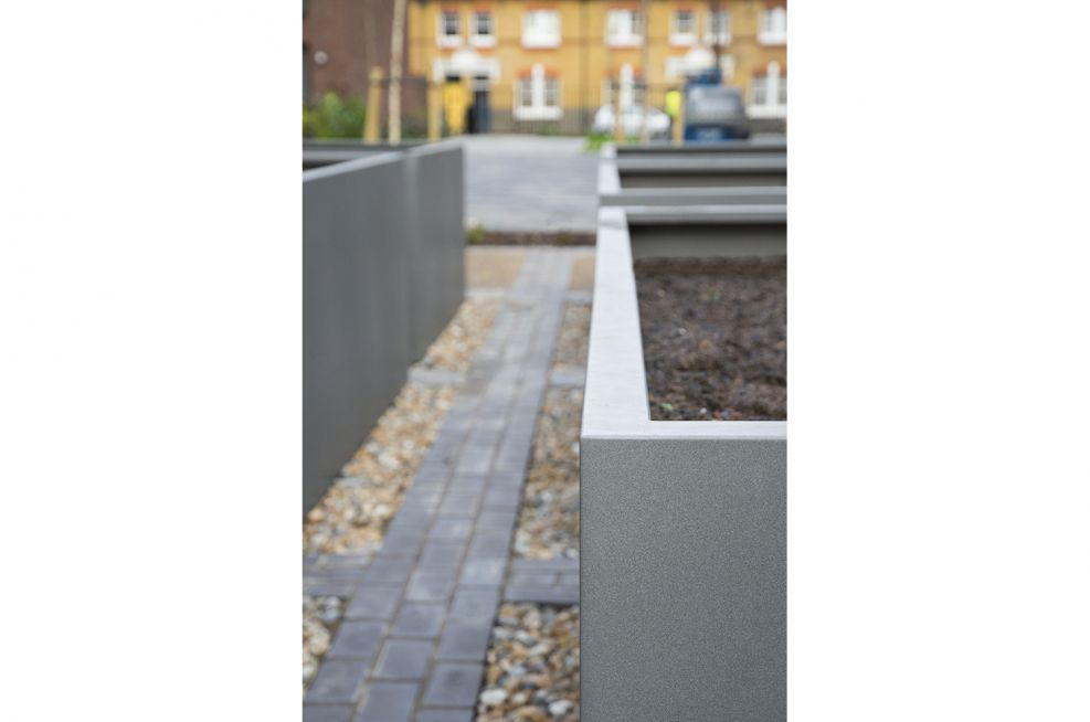 External Planters in With a Matt Finish