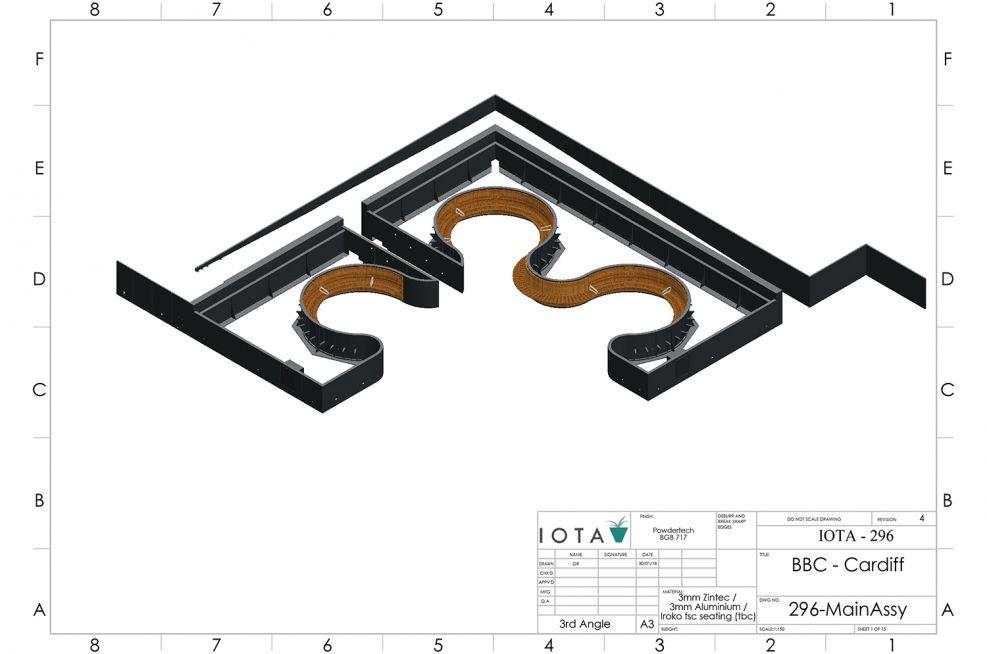 BBC Roof Garden Planter Design