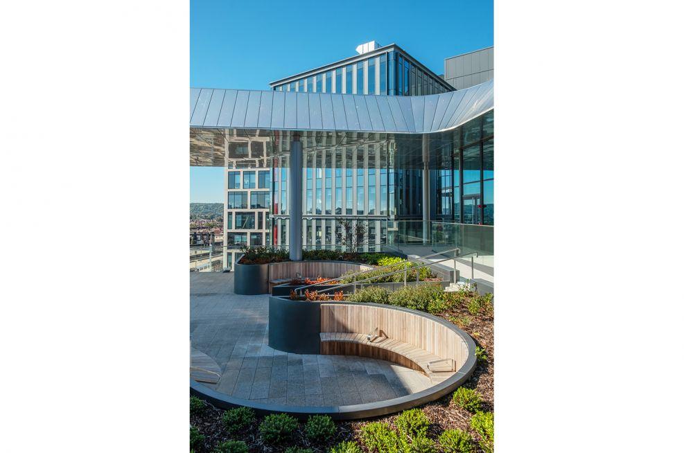Bespoke Roof Garden Fabrication
