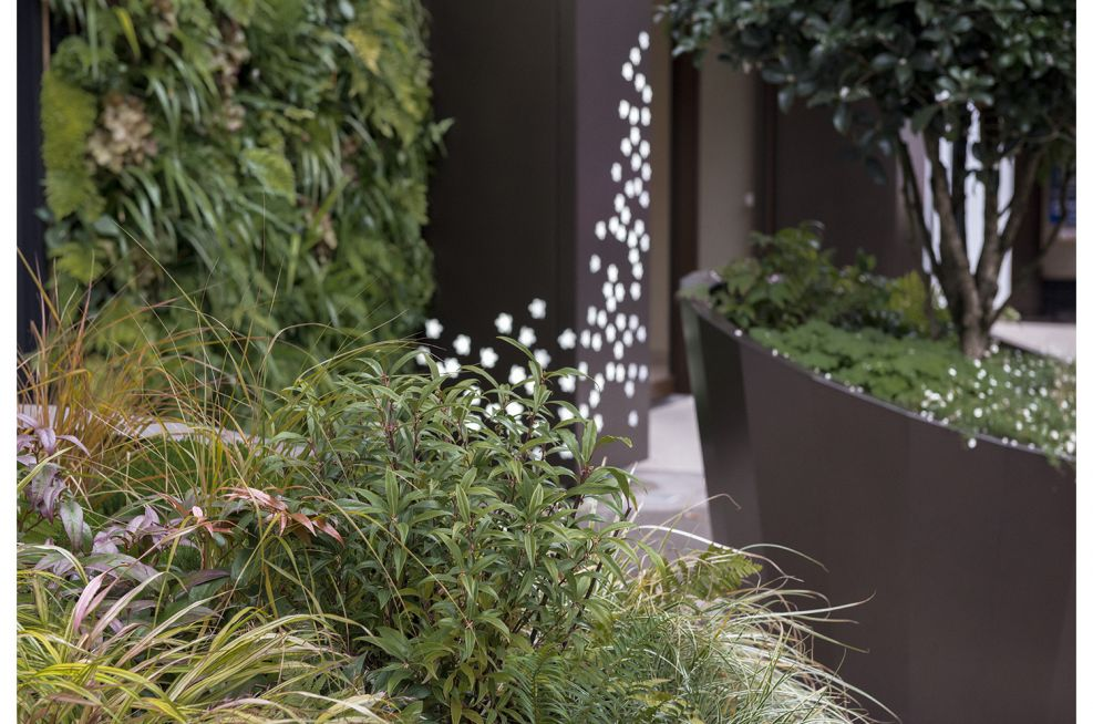 Hotel Bespoke Frontage and Planters