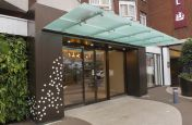 Hotel Frontage Metalwork Design and Installation