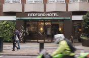 Bedford Hotel Glass Canopy Installation