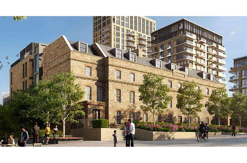 Berkeley Homes Royal Arsenal redevelopment