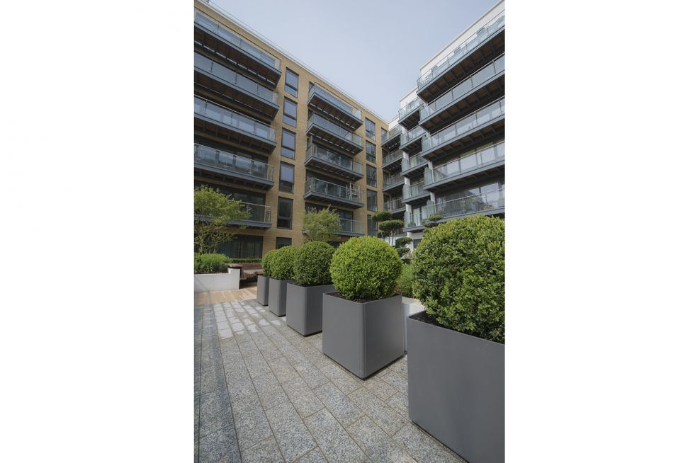 RAL 7016 Anthracite Grey Planters