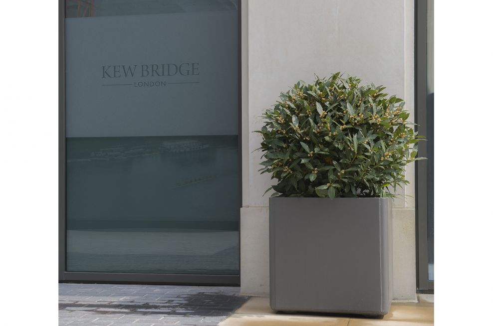 Elegant Boulevard planters Made From Fibre Reinforced Cement