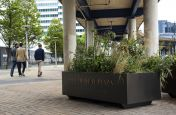 Bespoke Planters With a Powder Coating