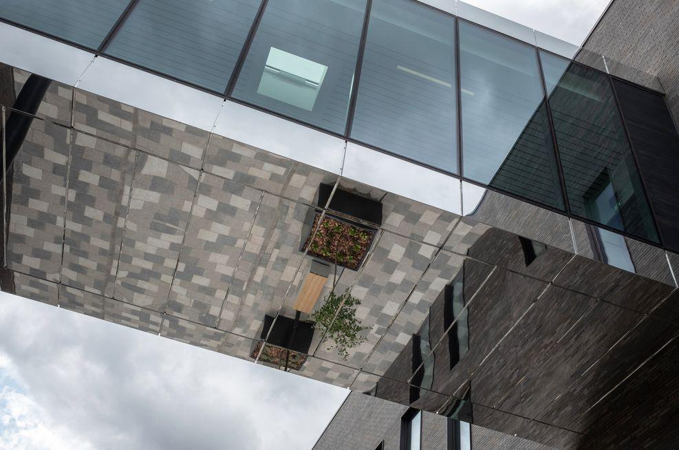 University of Birmingham planters