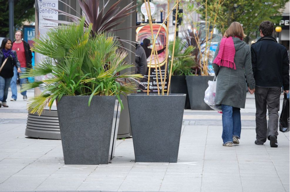 External Soft Landscaping Planters City Centre