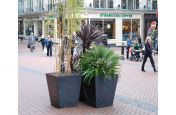 Solid Weatherproof Granite Planters