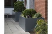 Stainless Steel Powder Coated Planters