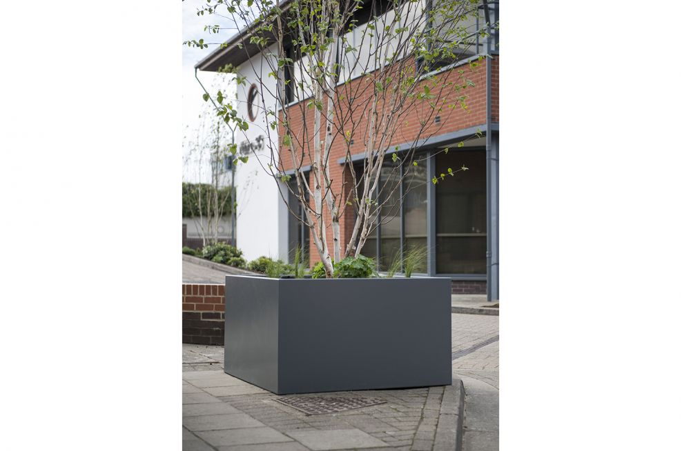 Stainless Steel Tree Planters