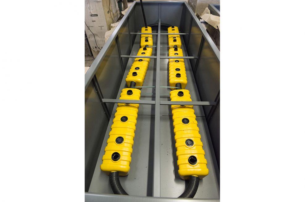 IOTA Supplied Steel Planters Pre Installed Planters