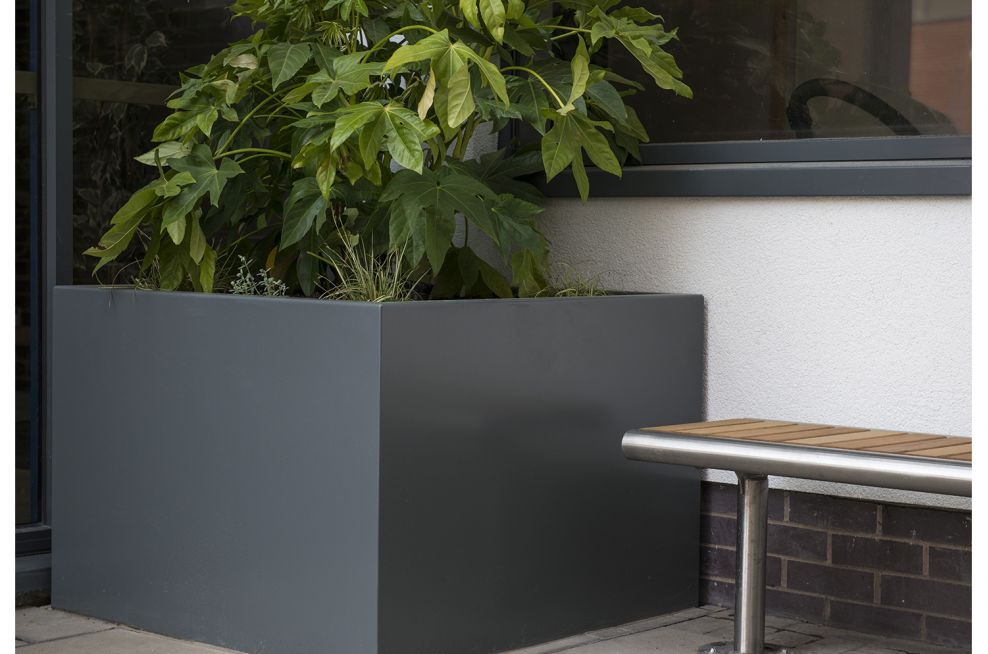 Trough Planters Stainless Steel and Powder Coated