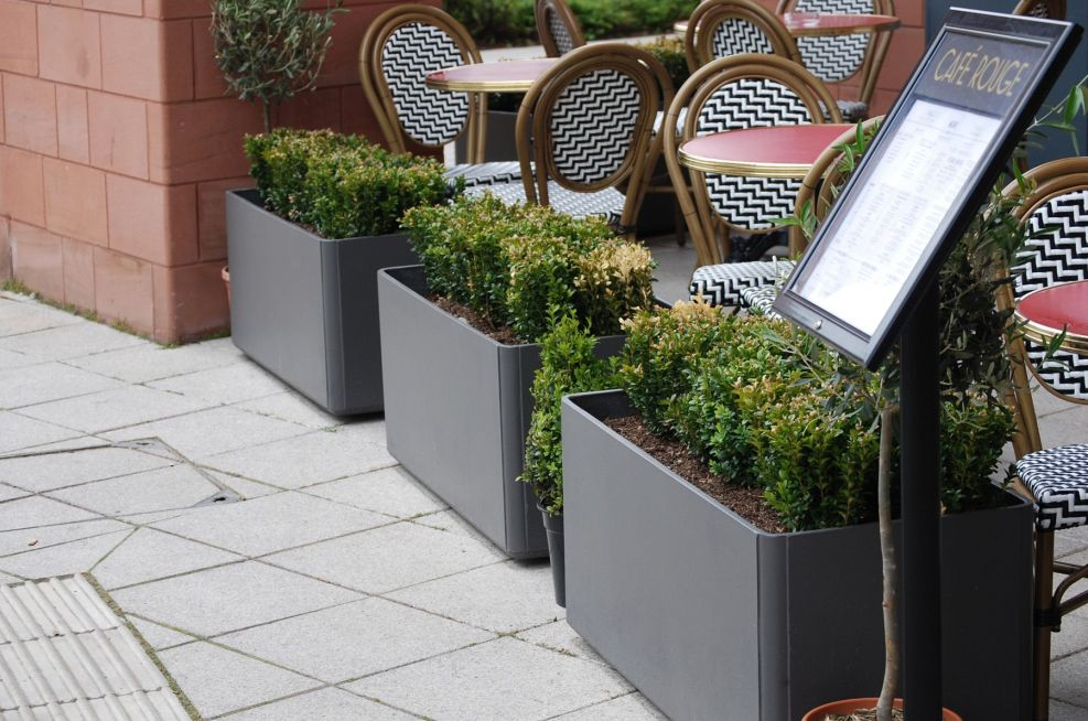 100CM External Trough Planters Coventry