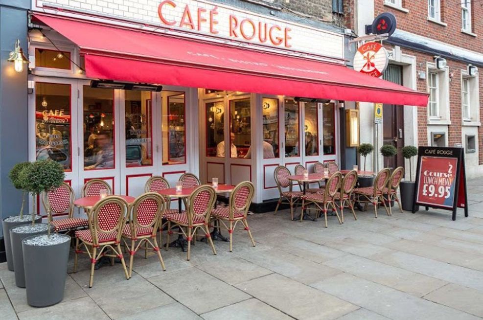 Alto FRC External Planters At Cafe Rouge