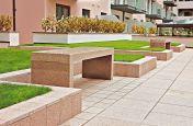 Bespoke Granite Fabricated Benches