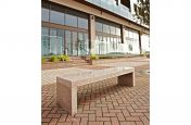 Solid 2000mm Fabricated Granite Benches