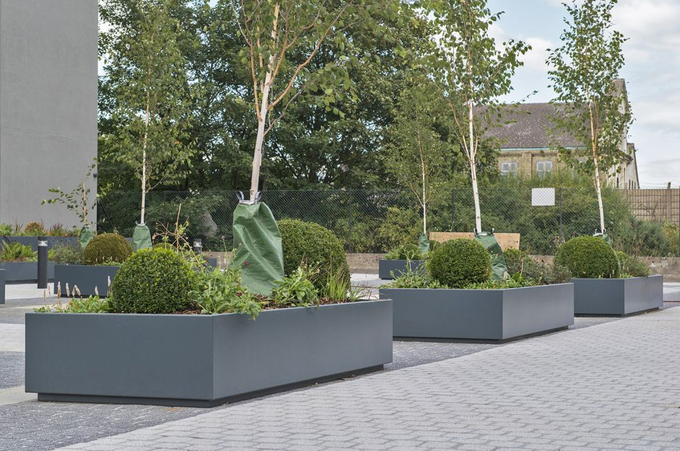 Zintec Steel Planters Made From 3mm Thick Steel