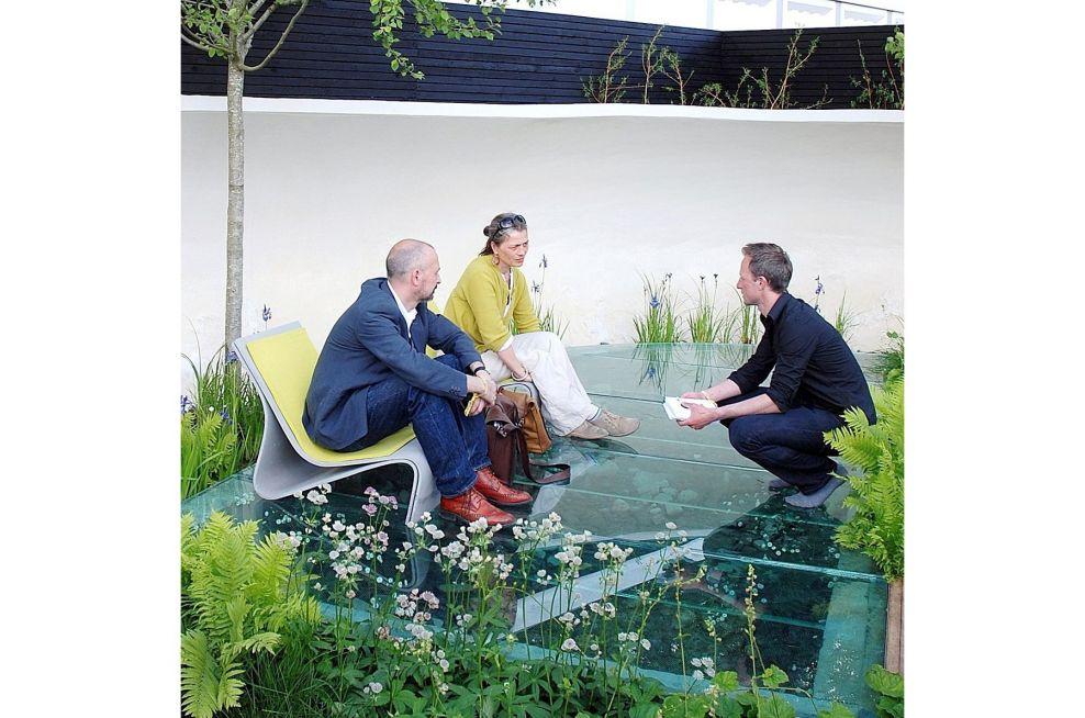 The Designer Of the Witan Wisdom Garden, Nicholas Dexter
