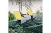 Grey Fibre Reinforced Concrete Material