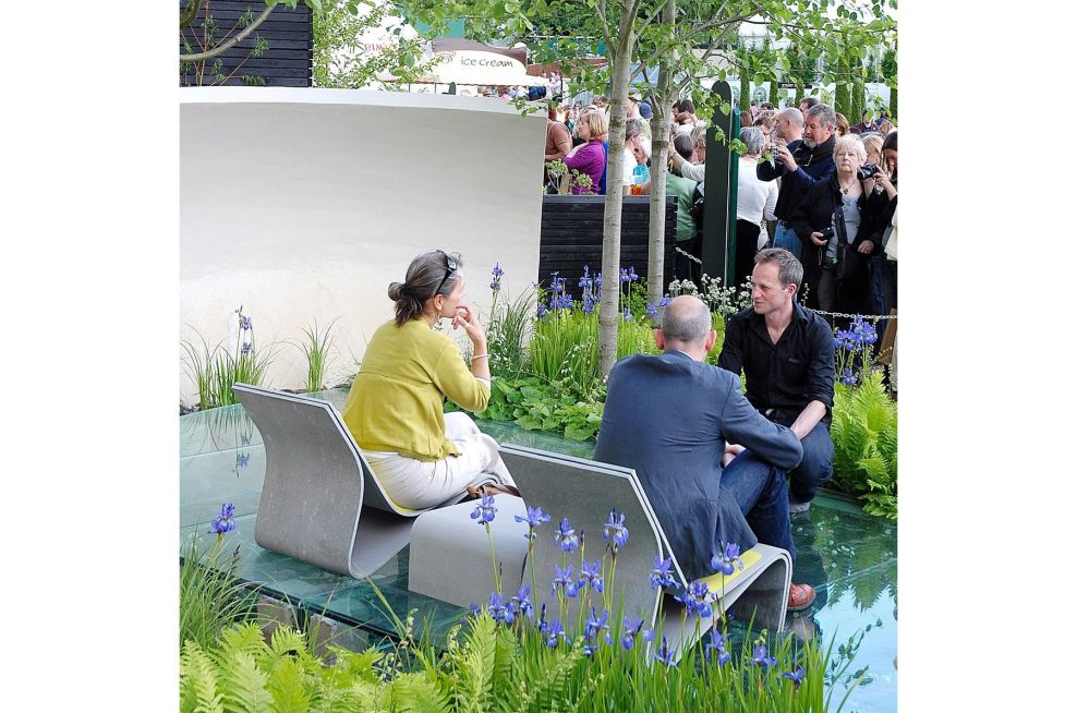 Nicholas Dexter, The Designer Of the Witan Wisdom Garden