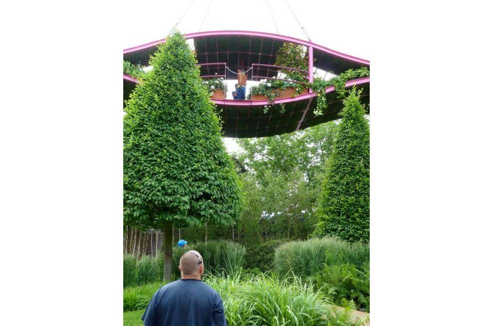 Diamuid Gavin At The Irish Sky Garden