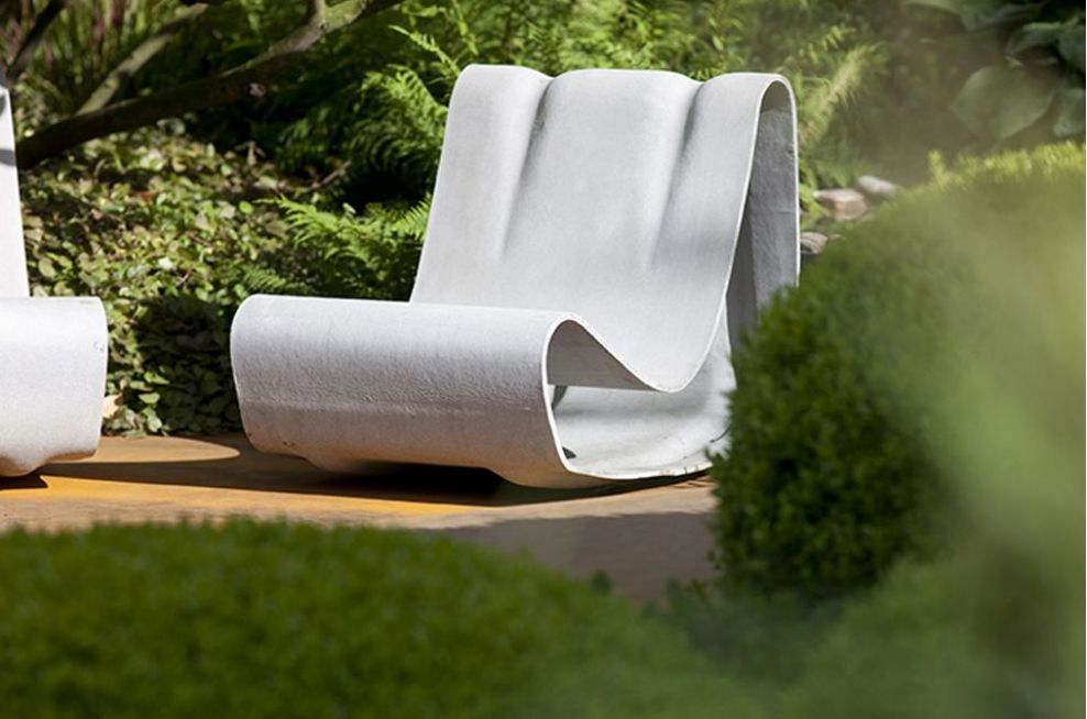 Irish Sky Garden Loop Chair Designed By IOTA