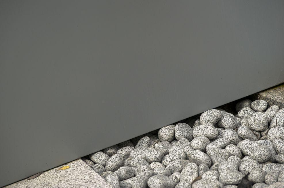 Steel planters for universities