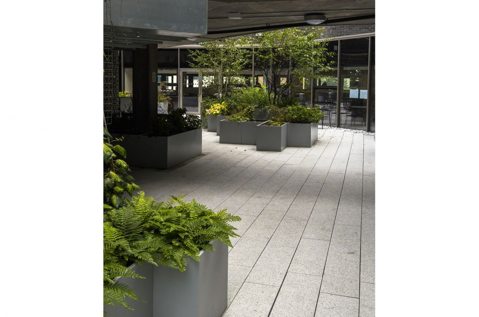 Quality steel pots and planters