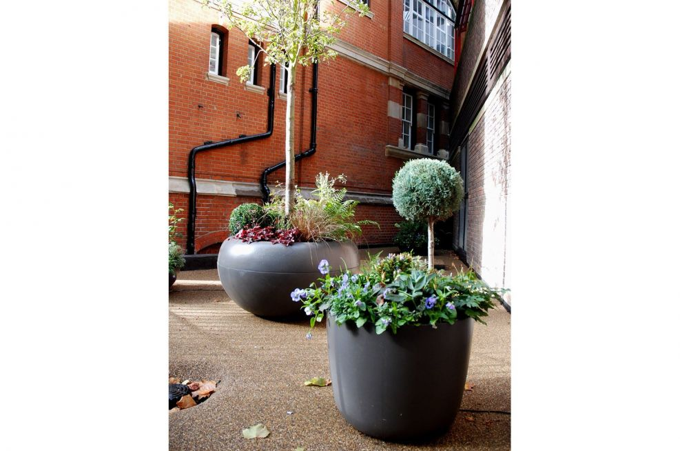 KYOTO Planters and ALADIN Planters
