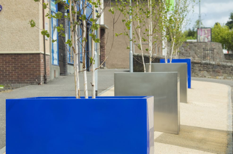 3mm Thick Steel Tree Planters