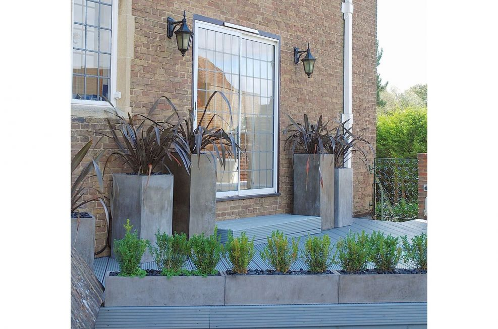 Italian Style Planters For Rooftop Terrace