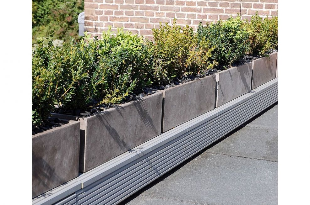 Roof Planters Made In An Italian Style