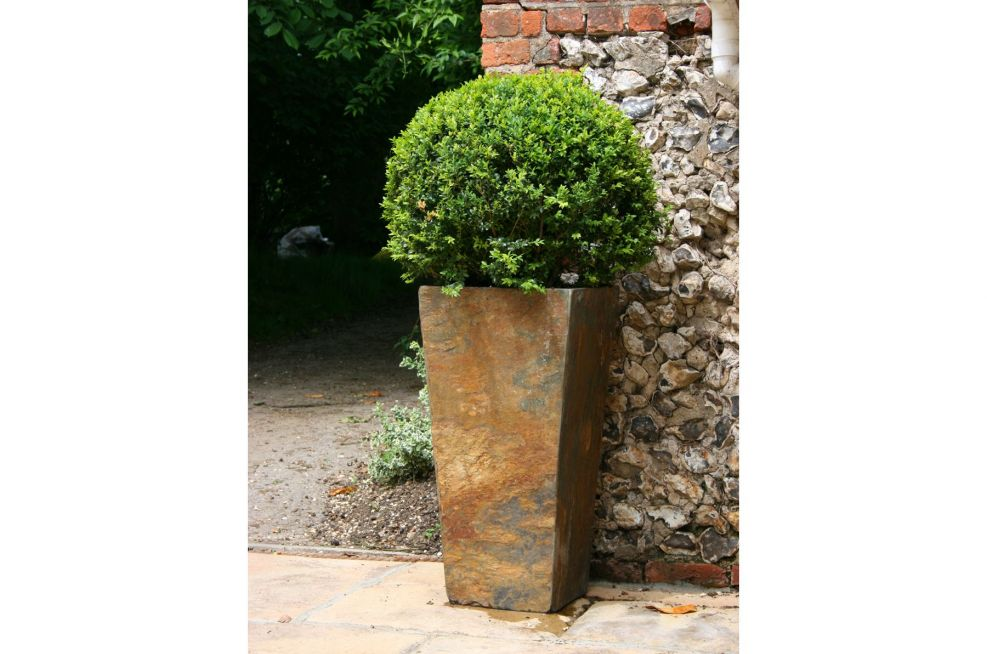 Extra Large Tall Slate Planter