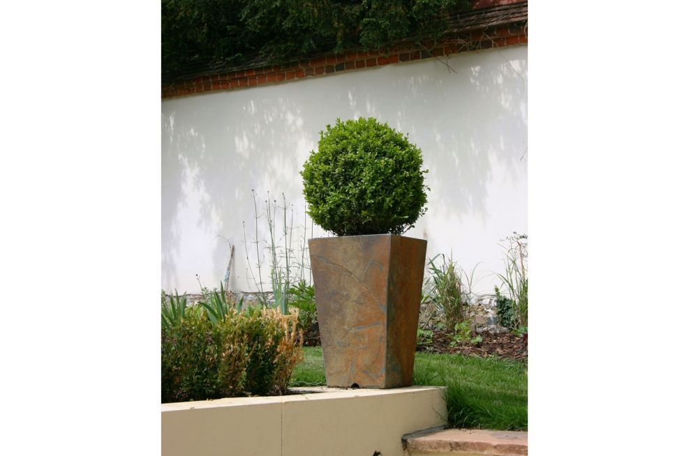 Slate Tall Taper Large planter