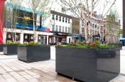 Large Tree Planters Made From Granite