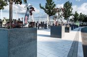Quayside Planters Made From Granite