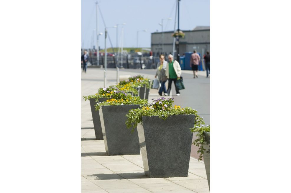 IOTA Planters Made From Granite
