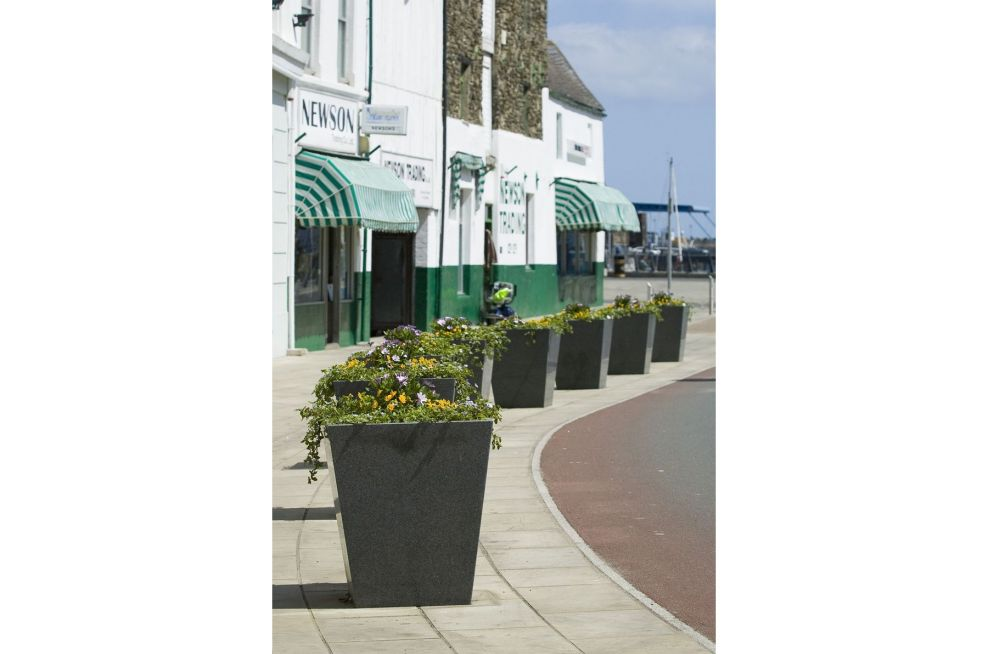 IOTA Tapered Planters In The Isle Of Man