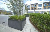 Fabrigated Granite Tree Planters Drayton Garden Village