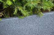 Finely Speckled Grey Stone Granite Planters