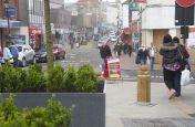 Dudley Town Centre Granite Tree Planters