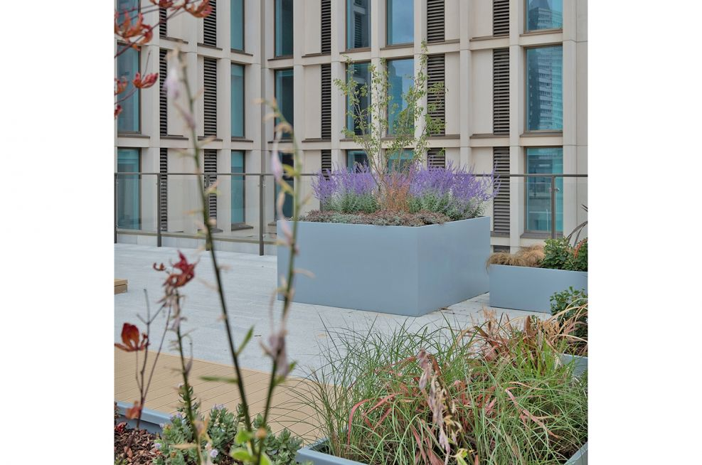 Extra large bespoke planters