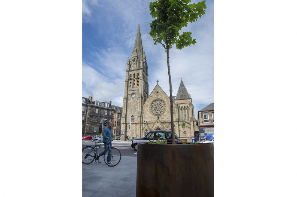 Durable and Long Lasting Steel Planters  Edinburgh City Council