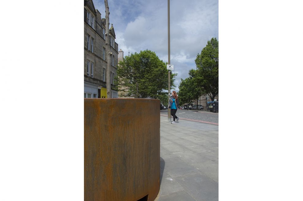 Planters Made From Stainless Corten Steel
