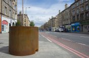 3.0mm Thick Corten Steel Planters For Edinburgh City Council