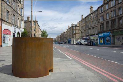 3.0mm Thick Corten Steel Planters For Edinburgh City Council