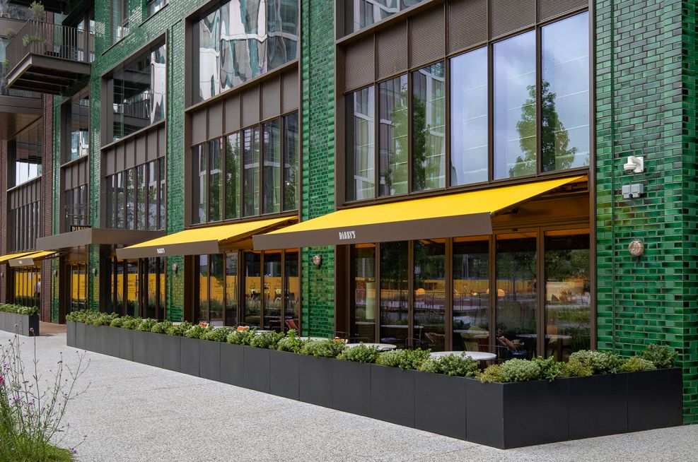 Darby's Restaurant Bespoke Planters