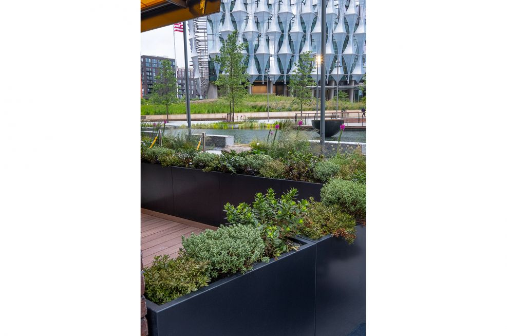 Outdoor Planters For Darby's Restaurant