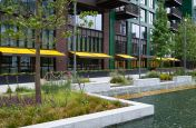 Public Realm Planters For Embassy Gardens Piazza, London